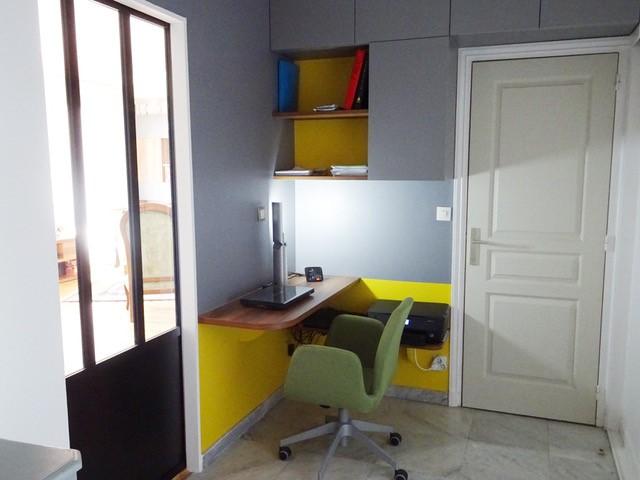 bureau sous pente free dressing sous pente sans souci pour sa dco chambre with bureau sous. Black Bedroom Furniture Sets. Home Design Ideas
